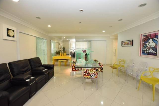 Apartamento com 4 dormitórios à venda, 190 m² - Praia das Pitangueiras - Guarujá/SP - Foto 2