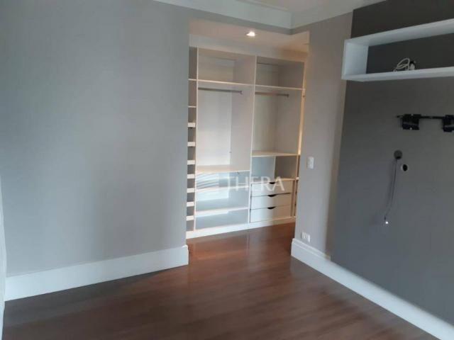 Apartamento com 3 dormitórios para alugar, 135 m² por r$ 5.000/mês - vila léa - santo andr - Foto 12