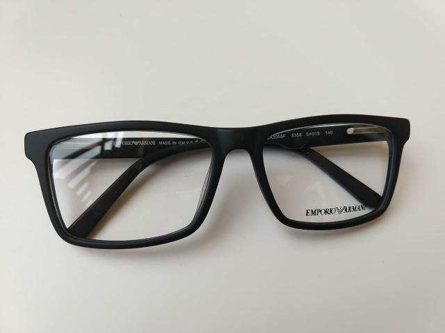 2ea5a28c7ecb3 Emporio Armani armação óculos grau quadrado masculino - Bijouterias ...