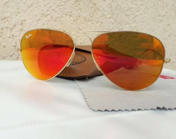 4ea85473b Óculos de sol Ray Ban aviador original - Bijouterias, relógios e ...