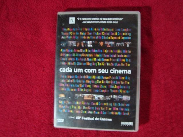 Dvd Cada um com seu cinema - Curtas diversos - Raro - Esgotado