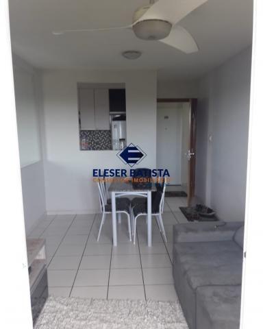 Apartamento à venda com 3 dormitórios em Condomínio viver serra, Serra cod:AP00172 - Foto 3