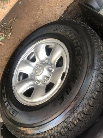 Toyota Hilux SR 4x4 3.0 8V 116CV TB DIESEL / pneu NOVO / todas revisões na Toyota - Foto 7