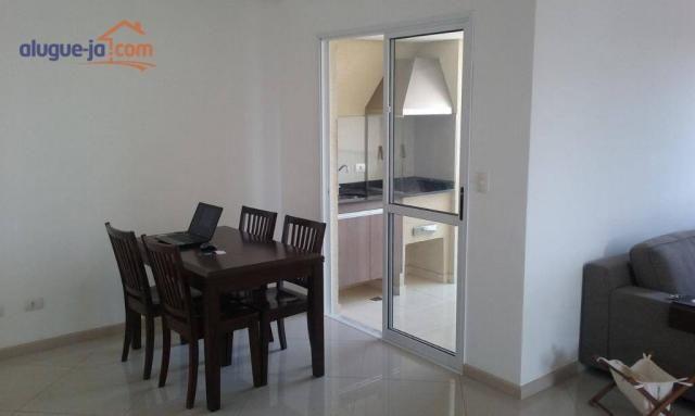 Lindo apartamento 2 dormitórios com varanda gourmet - Foto 2