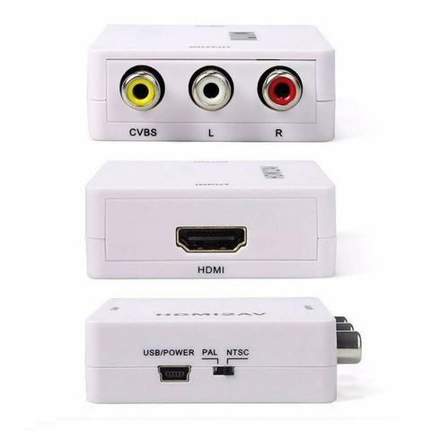 Mini conversor RCA Para HDMI - Foto 2