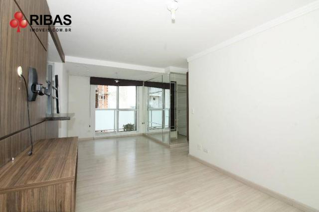 Apartamento com 3 dormitórios para alugar, 78 m² por r$ 2.000,00/mês - capão raso - curiti - Foto 2