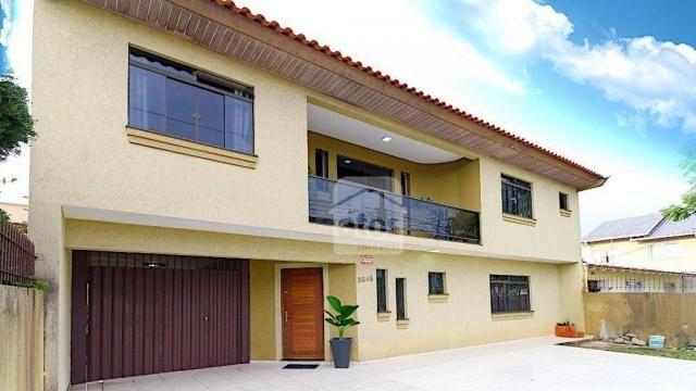 Casa com 5 dormitórios à venda, 350 m² por r$ 815.000,00 - hauer - curitiba/pr