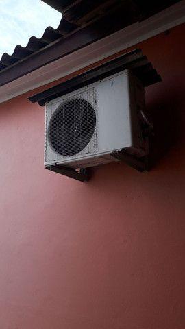 Vendo ar comdicionado brize por 800reais ou em em material de contrução - Foto 2