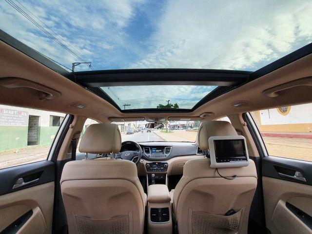 New Tucson GLS 1.6 turbo + interior bege + teto panorâmico - Foto 19