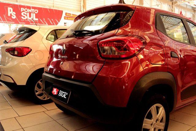 """:) Renault Kwid Zen 1.0 12V Flex """" Completo """" Baixo km - 2020 - Foto 3"""