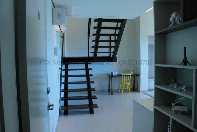 Lindo Flat mobiliado e decorado - Cobertura - Santa Fé - Foto 20