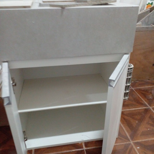 Kit pia de porcelanato e armário sobe medida - Foto 2