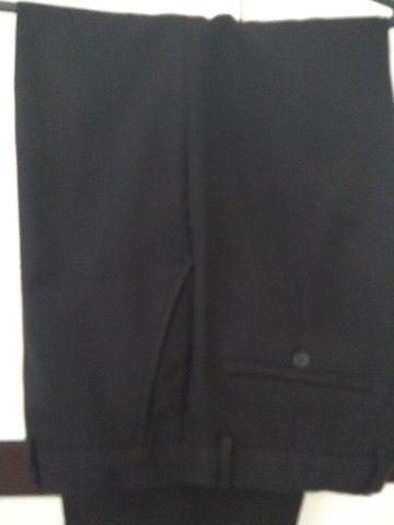 Calça masculina social preta Tam, 44
