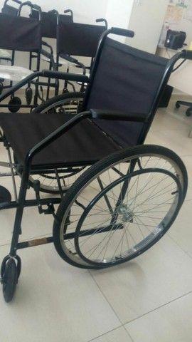 Cadeira de Rodas Semi Obeso (NOVA) - Foto 4