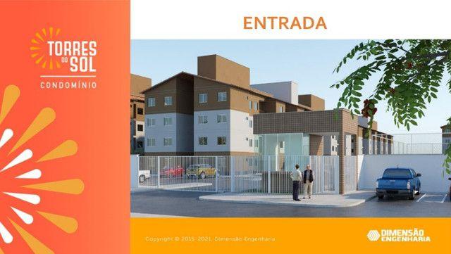 Condomínio com apartamentos de 2 quartos// Torres do sol - Foto 2