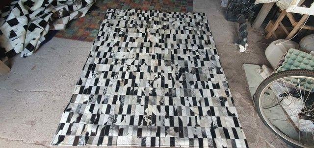 Tapetes de couro legítimo novos - Foto 3