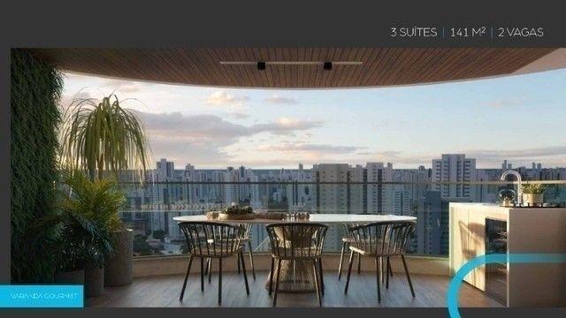 JS- Lançamento do ano na Zona Norte - Edf. Mirage em Casa Amarela - 3 Suítes - 141m² - Foto 8
