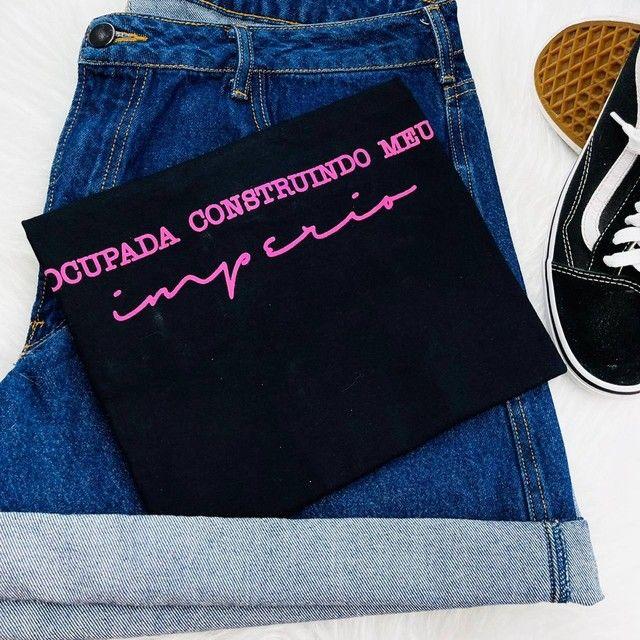 T-shirts femininas exclusivas (blusas) - Foto 5