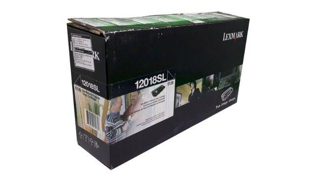 Toner Lexmark 12018SL / E120 Original Novo - Foto 2