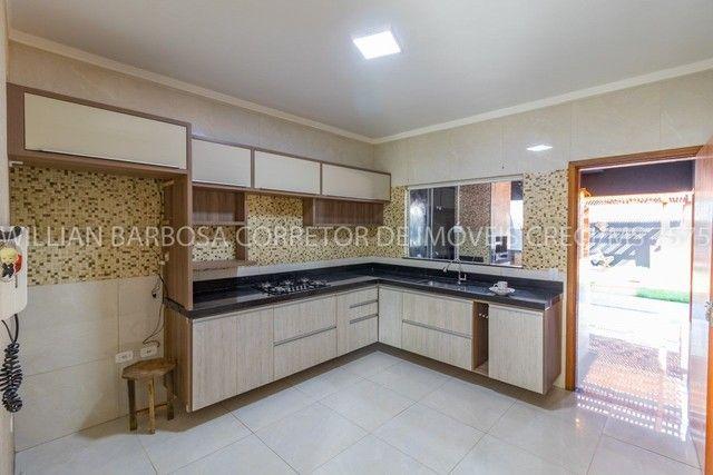 Casa com área de lazer completa e alto padrão de acabamento no Jd das Nações! - Foto 13