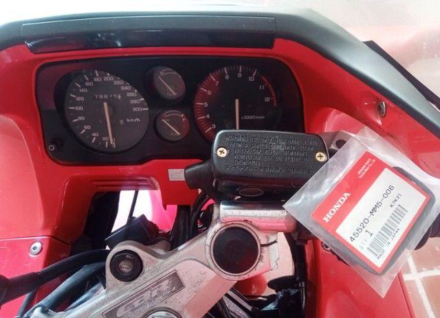 Honda CBR 1000F 1993 Vermelha, Raridade, Toda original - Foto 8