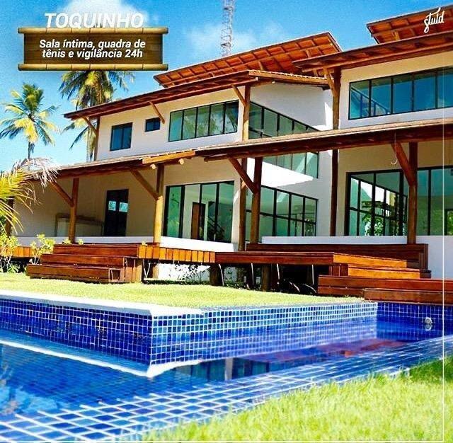 AC- B A I X O U ! Casa na praia de toquinho com 7suites  - Foto 13