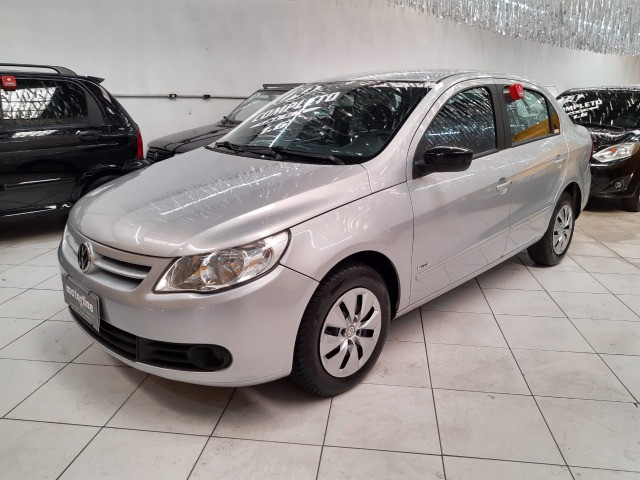 Volkswagen Voyage 1.6 Trend 4p Flex 2009 Prata Completo Muito Novo Doc OK - Foto 3