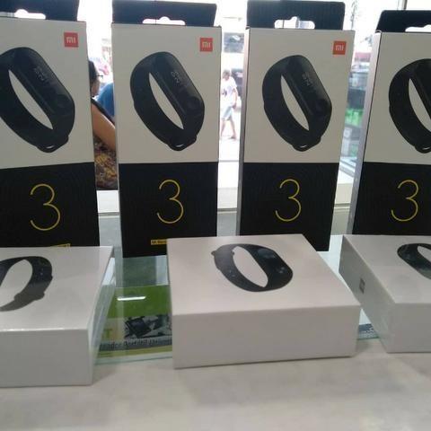 MI Band 3 Relogio Inteligente Xiaomi( Loja na Cohab)-Total Segurança na Sua Compra