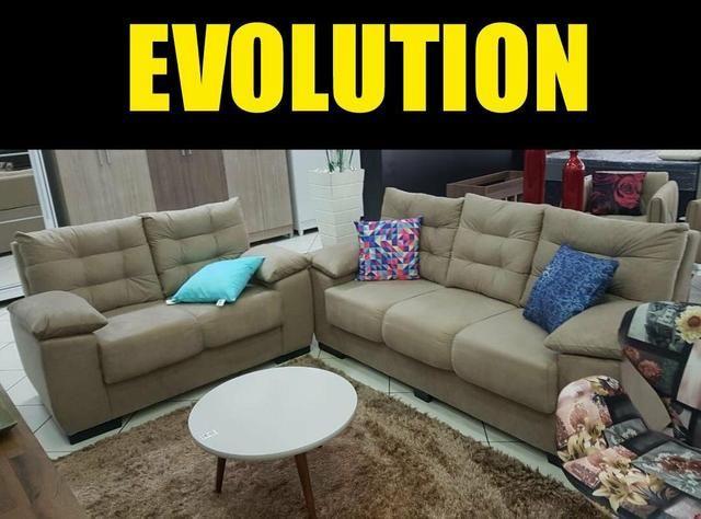 Sofá Evolution 3x2 NOVO - Foto 6