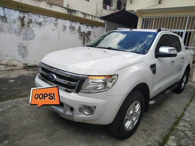 Vendo ou Troco Ranger Limited 13/14 Diesel