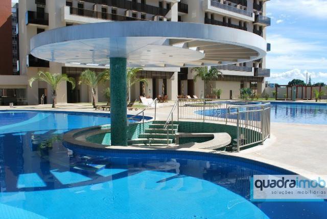 01 Quarto Vazado C/ 02 Varandas - Lazer De Resort - Park Sul - Use Fgts - Foto 7