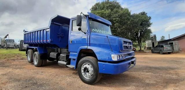 Caminhão l1620 caçamba - Foto 4