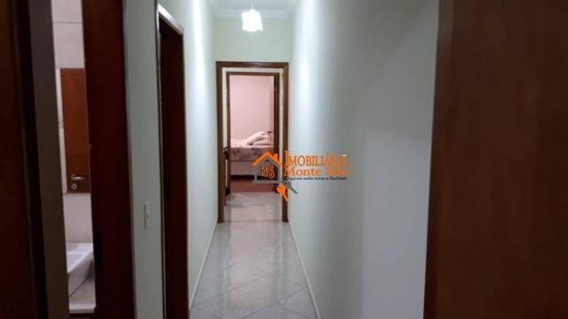 Sobrado com 3 dormitórios à venda, 147 m² por R$ 650.000,00 - Jardim Imperador - Guarulhos - Foto 8