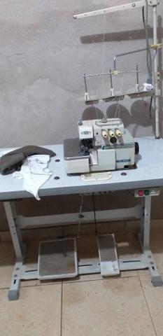 Máquina reta R$700 e overloq 1500 industriais - Foto 3