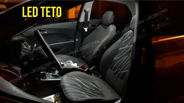 Led Teto/Placa/Ré/Porta malas - Foto 4