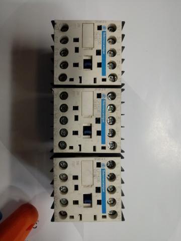 Contator 24v 6a Telemecanique Lp1k0601bd - Lote Com 8 Peças usadas e em ótimo estado
