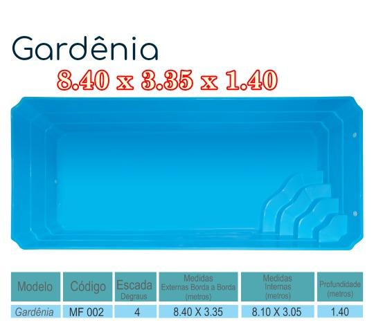 Piscina De Fibra 8 40 X 3 35 X 1 40 Capacidade 35 Mil Litros