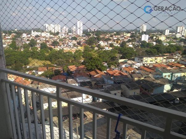 Apartamento com 3 dormitórios para alugar, 70 m² por R$ 1.600/mês - Centro - São José dos
