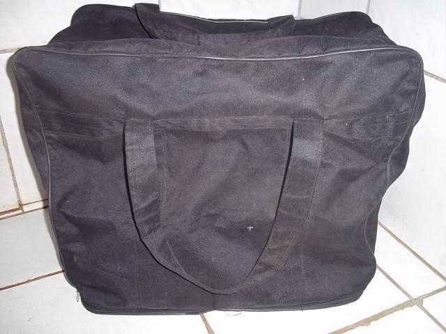 ad3f94eaf9646 Sacolão de viagem   preto   novo - Bolsas