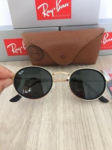 6274038d4b33c Óculos de sol ray ban round vintage novo - Bijouterias