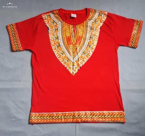 Camisetas moda africana/moda afro