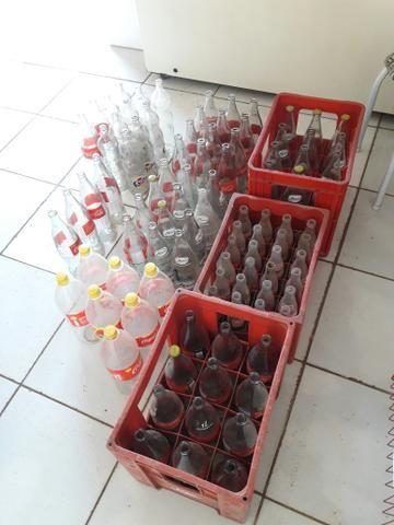 Vende-se garrafa de refrigerante(vasilhame)