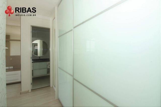 Apartamento com 3 dormitórios para alugar, 78 m² por r$ 2.000,00/mês - capão raso - curiti - Foto 16