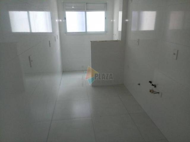 Apartamento com 2 dormitórios à venda, 83 m² por R$ 543.335,00 - Canto do Forte - Praia Gr - Foto 5
