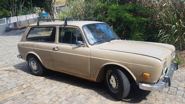 Volkswagen Variant Bege 1970 - Foto 2