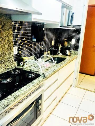 Apartamento à venda com 3 dormitórios em Parque amazônia, Goiânia cod:NOV235844 - Foto 2