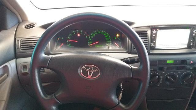 Toyota Corolla XEI 2005 completo 1.8 AC troca - Foto 6