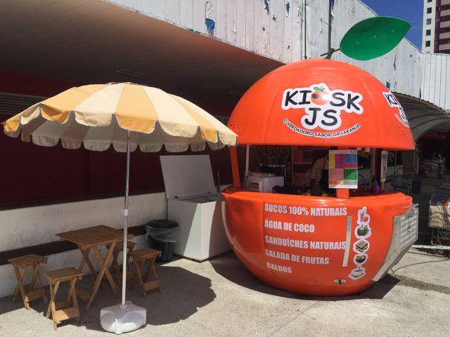 Oportunidade de negócio: Kiosk de sucos naturais