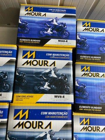 Bateria Moura para motos suzuki yes intruder gsr150 mv8-e entrega todo Rio