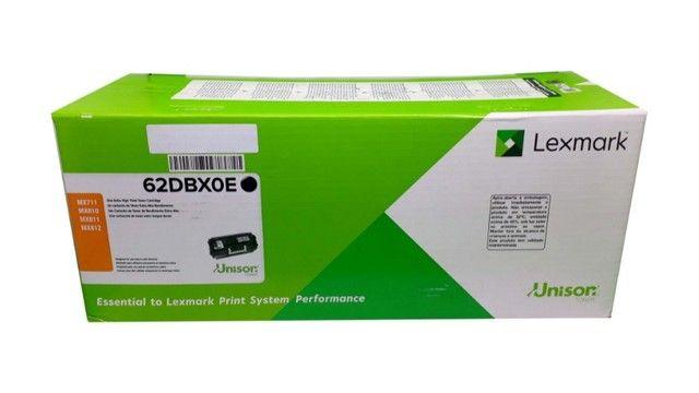 Toner Lexmark 62DBX0E Original Novo